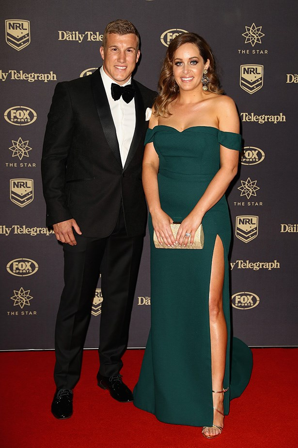 Trent Hodkinson and Chantelle Traficante.