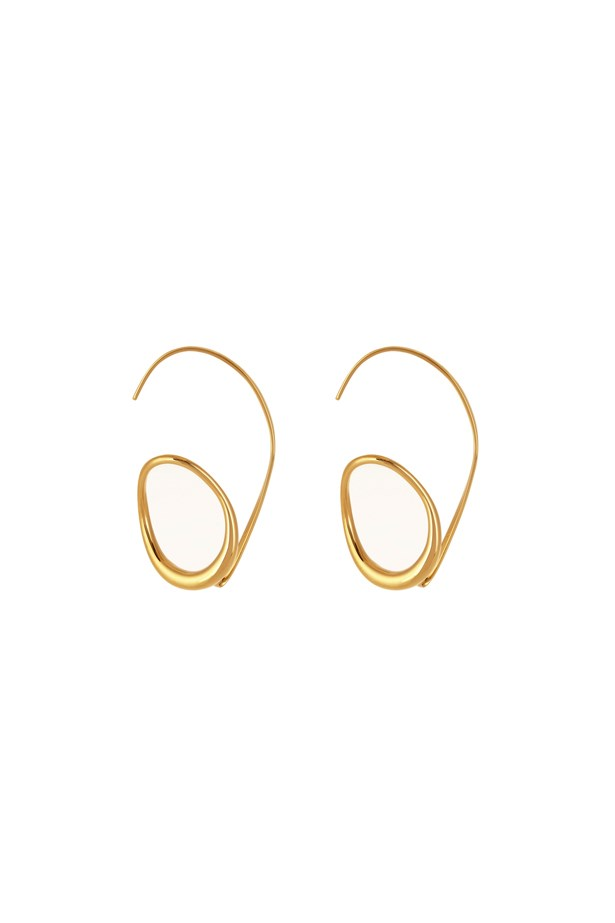 "Earrings, $435, <a href=""http://www.matchesfashion.com/au/products/Charlotte-Chesnais-Caracol-gold-plated-earring-1066583"">Charlotte Chesnais at matchesfashion.com</a>."