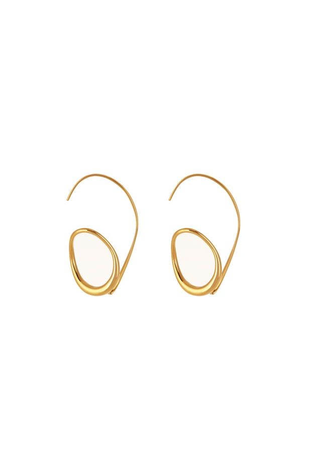 """Earrings, $435, <a href=""""http://www.matchesfashion.com/au/products/Charlotte-Chesnais-Caracol-gold-plated-earring-1066583"""">Charlotte Chesnais at matchesfashion.com</a>."""