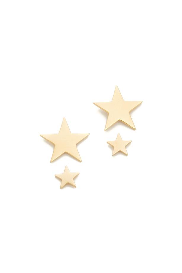 """Earrings, $156, <a href=""""https://www.shopbop.com/star-earrings-amber-sceats/vp/v=1/1533593508.htm?folderID=2534374302060430&fm=other-viewall&os=false&colorId=11739"""">Amber Sceats at shopbop.com</a>."""