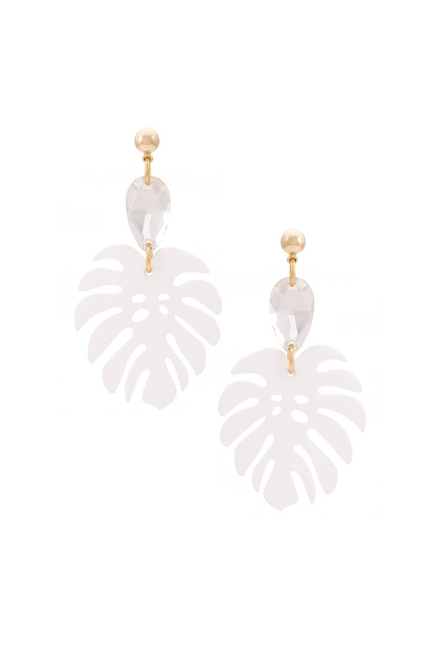 "Earrings, $307, <a href=""https://www.farfetch.com/au/shopping/women/serpui--leaf-earrings-item-11549346.aspx?storeid=9682&from=listing&ffref=lp_pic_211_1_lst"">Serpui at farfetch.com</a>."