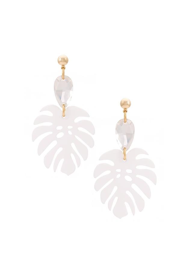 "Earrings, $307, <a href=""https://www.farfetch.com/au/shopping/women/serpui--leaf-earrings-item-11549346.aspx?storeid=9682&from=listing&ffref=lp_pic_211_1_lst"">Serpui at farfetch.com</a>."