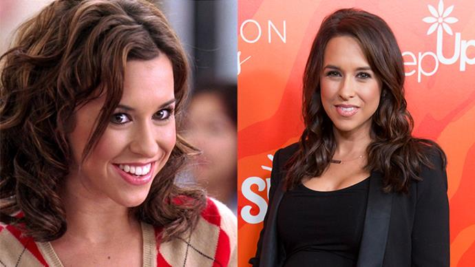 """<p><strong>Who:</strong> Gretchen Wieners, the Plastic who wasn't allowed to wear white gold hoop earrings and couldn't make """"fetch"""" happen, played by Lacey Chabert. <p><strong>Where is she now?</strong> Lacey appeared in a bunch of TV shows after <em>Mean Girls</em>. She recently welcomed her first child, a baby girl named Julia, with her husband David Nehdar."""
