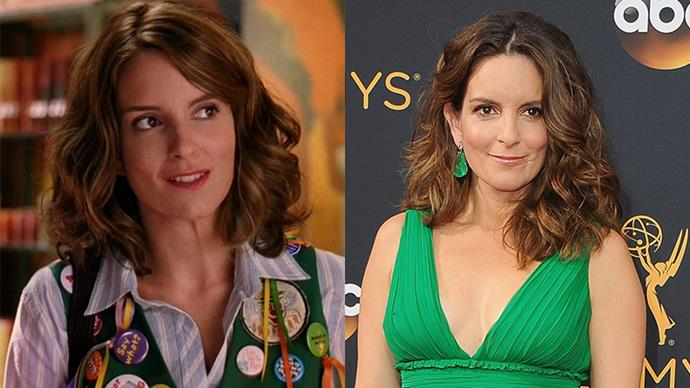 """<p><strong>Who:</strong> Ms. Norbury, Cady's maths teacher who """"pushed"""" her (into being a better person and student), played by Tina Fey. <p><strong>Where is she now?</strong> Tina continued working on <em>Saturday Night Live</em> (until she left), then went on to create and star in <em>30 Rock</em> and <em>Unbreakable Kimmy Schmidt</em>, with a few films thrown in between."""