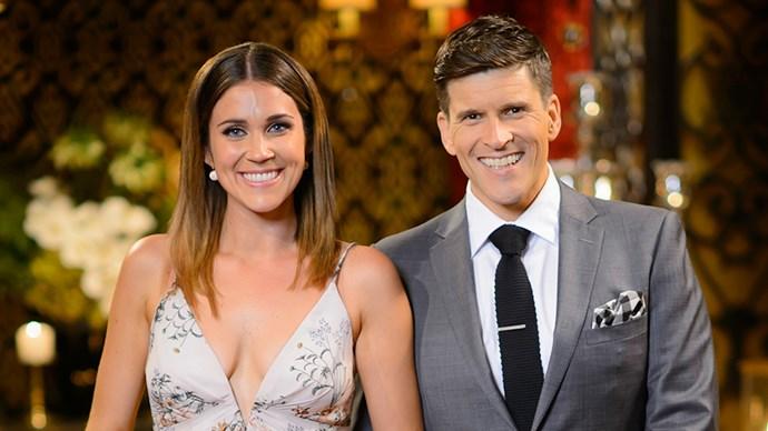 Georgia Love and Osher Gunsberg on The Bachelorette Australia 2016