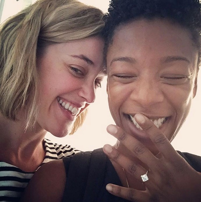 samira wiley lauren morelli engaged