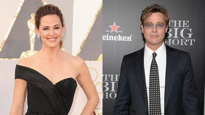 Jennifer Garner Jokes About Dating Brad Pitt