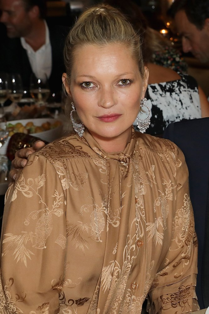 <strong>Kate Moss</strong><br> In 1988 at the age of 14, Moss was scouted at New York's JFK airport while travelling back to London from a family holiday. The woman who discovered her, Storm Model Management founder Sarah Doukas, went on to be responsible for tapping Cara Delevingne and Jourdan Dunn.