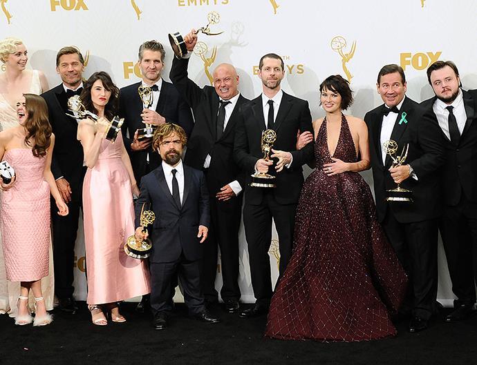 Game of Thrones cast.