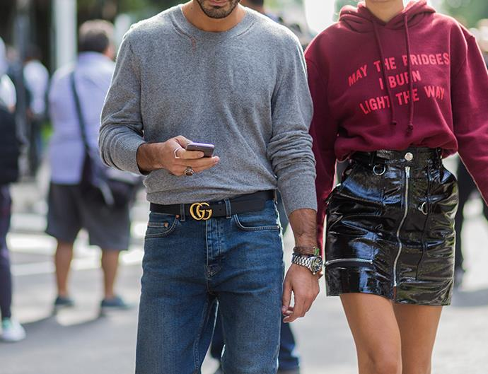 Patricia Manfield and Boyfriend