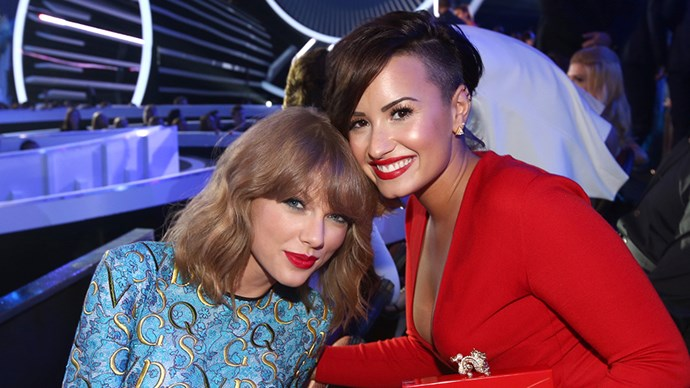 Taylor Swift and Demi Lovato