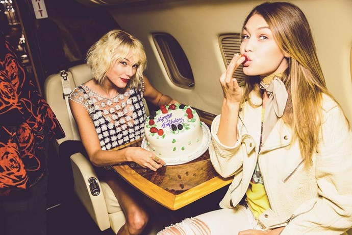 <p> <strong>Name:</strong> Gigi Hadid.<p> <p> <strong>Squad Level:</strong> Level 1.<p> <p> <strong>Notable Interactions:</strong> Only Level 1 members enjoy birthday cakes on private jets.<p>