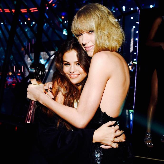 <p> <strong>Name:</strong> Selena Gomez.<p> <p> <strong>Squad Level:</strong> Level 1.<p> <p> <strong>Notable Interactions:</strong> As one of Taylor's oldest and best Hollywood friends, Selena takes out the top Level 1 spot.<p>