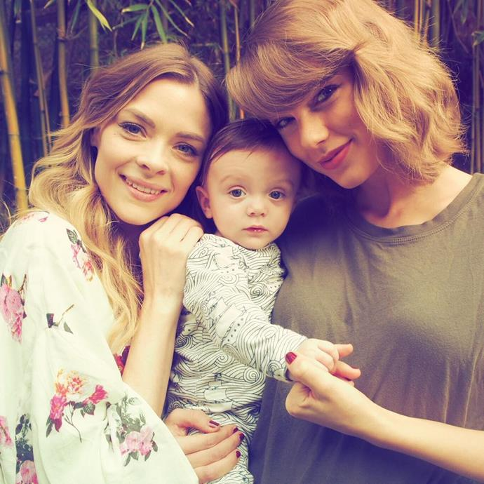 <p> <strong>Name:</strong> Jaime King.<p> <p> <strong>Squad Level:</strong> Level 1.<p> <p> <strong>Notable Interactions:</strong> Jaime and Taylor are so close that Taylor is Jaime's son's godmother.<p>