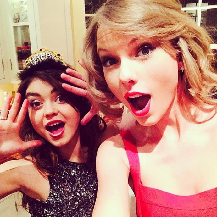 <p> <strong>Name:</strong> Sarah Hyland.<p> <p> <strong>Squad Level:</strong> Level 2.<p> <p> <strong>Notable Interactions:</strong> Sarah and Taylor celebrated New Year's Eve together in 2014.<p>