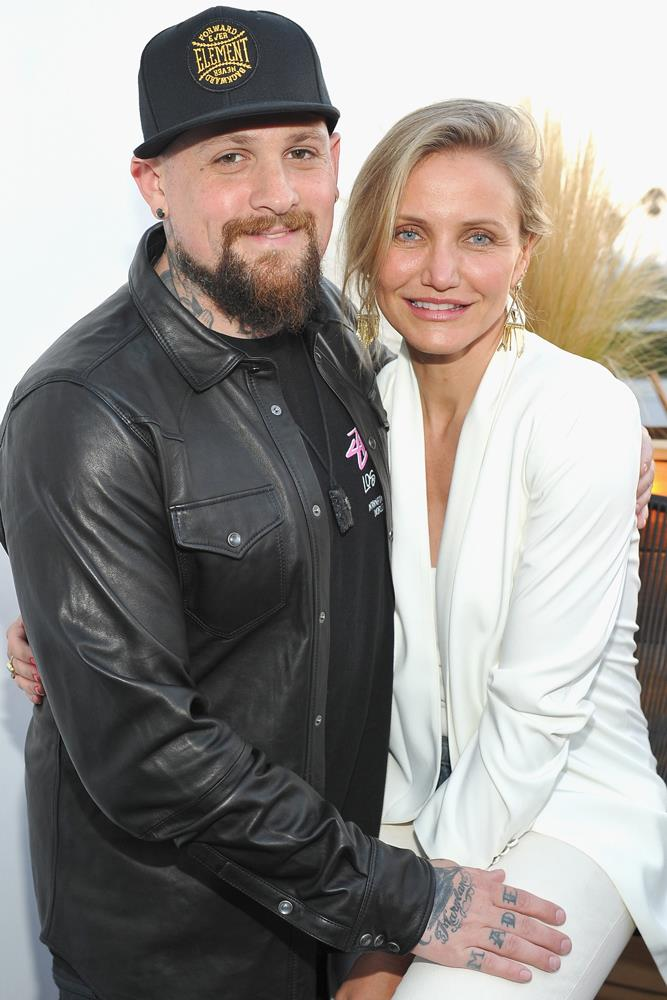 <strong>Benji Madden and Cameron Diaz</strong><br> The two were set up by Nicole Richie, Madden's sister-in-law and a good friend of Diaz's.