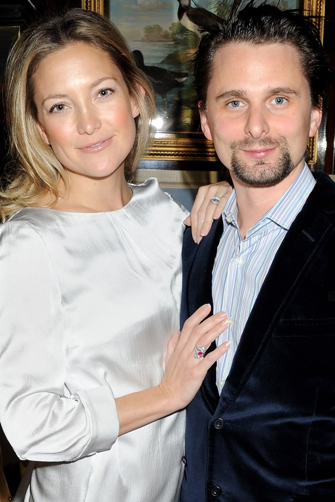"<strong>Kate Hudson and Matt Bellamy</strong><br> Hudson and Bellamy ""met"" when Hudson became separated from her friends at Coachella in 2010, and Bellamy offered to accompany her while she found them. Once chatting they realised they'd actually met years prior while both in Australia. Bellamy asked for her number and they started dating before becoming engaged and having a son together in 2011. They were never to be wed, ending their relationship in December 2014."