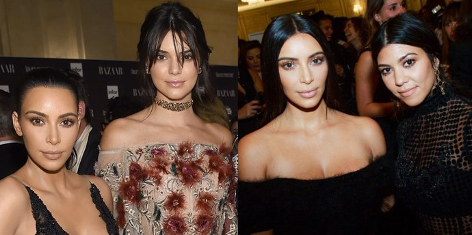 kendall jenner kim kardashian kourtney kardashian