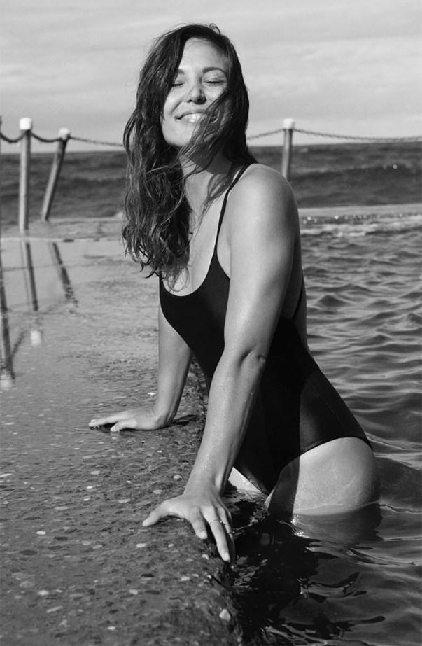 Matteau Swim Black One Piece Swimsuit
