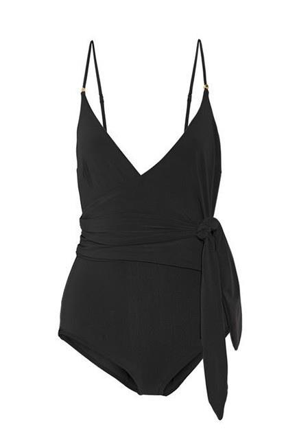 """<p>Wrap Swimsuit, $275, <a href=""""https://www.net-a-porter.com/au/en/product/733267/stella_mccartney/wrap-swimsuit"""" target=""""_blank"""">Stella McCartney at net-a-porter.com</a>."""