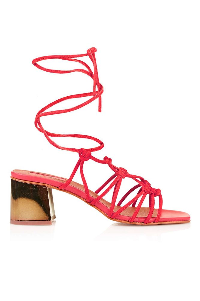 "Sandals, $85, Topshop<a href=""http://www.topshop.com/en/tsuk/product/shoes-430/napoli-knotted-sandals-5729908?bi=20&ps=20""></a>"
