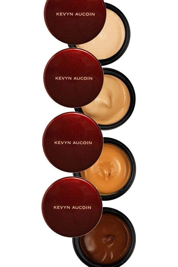 """<p> <a href=""""https://www.kevynaucoin.com/product/the-sensual-skin-enhancer?product_id=SensualSkinEnhancer"""">Kevin Aucoin Sensual Skin Enhancer</a><p> <p> Waterproof, hydrating, soft and buildable, this little pot goes the distance."""