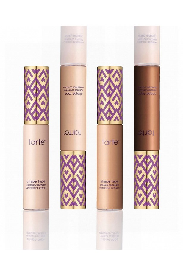"""<p> <a href=""""http://tartecosmetics.com/tarte-item-shape-tape-contour-concealer"""">Tarte Shape Tape Contour Concealer</a><p> <p> Despite being released only a few months ago and being marketed as a contour concealer, the Shape Tape has shaped up to be a versatile and covetable concealer."""