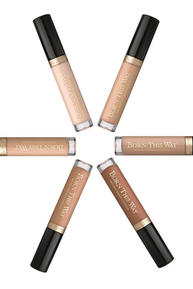 """<p> <a href=""""http://mecca.com.au/too-faced/born-this-way-concealer/V-024332.html#q=born+this&start=1"""">Too Faced Born This Way Concealer</a> <p> <p> A worthy addition to its 'Born This Way' foundation, the concealer is totally blendable and provides uneven, buildable coverage."""