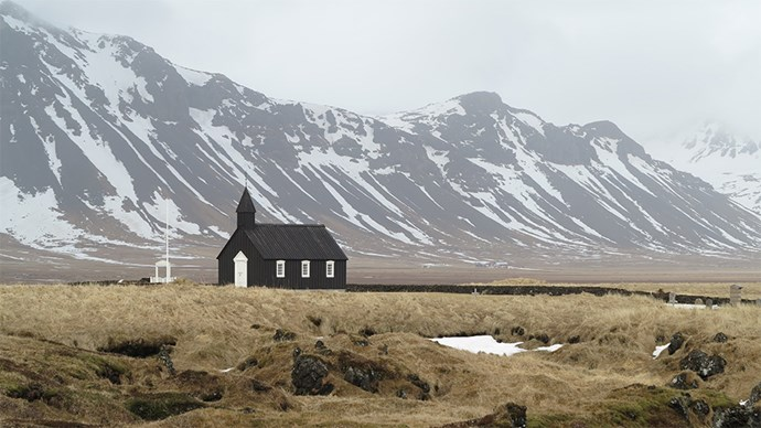 "<p> <a href=""http://www.hotelbudir.is/"">Hotel Búðir, Snaefellsnes Peninsula, West Iceland</a><p> <p> Destination weddings aren't all about castles and clifftops, and this hotel/church combo is truly charming. The small, beautiful wooden church is located in a bare field, surrounded by a lavafield with the magical Snaefellsjokull glacier sitting perfectly around it.  Hotel Búðir is also world renowned for its experimental menu."