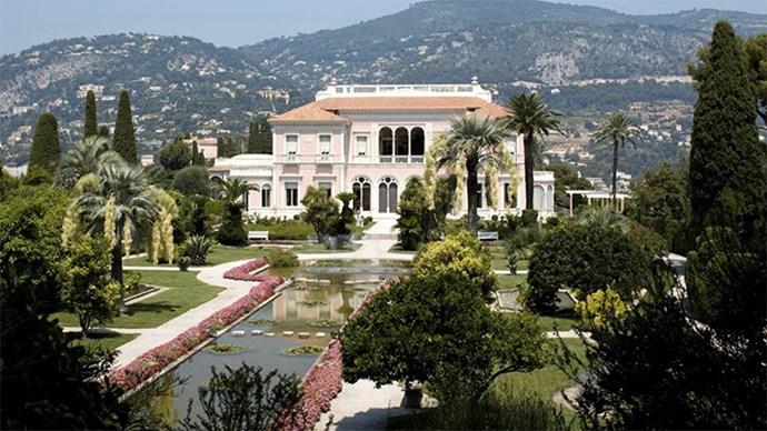 "<p> <a href=""http://www.villa-ephrussi.com/en/home"">Villa & Jardins Ephrussi de Rothschild, Saint-Jean-Cap-Ferrat, French Riviera</a><p> <p> This eye-catching castle is sitting pretty between Nice and Monaco, making it convenient for your guests to choose which ever Rivera town they'd like to stay in. The enormous baby pink palace's surrounding gardens will provide the ultimate backdrop for a ceremony that even Marie Antoinette would be jealous of."