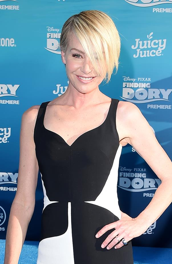 <p><strong>Portia de Rossi</strong> <p>After marrying Ellen DeGeneres in 2008, Portia de Rossi legally changed her name to Portia DeGeneres (professionally she's still Portia de Rossi). But that's not the first time she changed her name—she was actually born Amanda Lee Rogers and wanted a more exotic, European-sounding name.