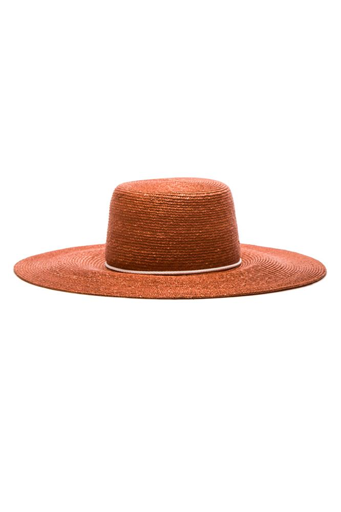 "<a href=""http://www.fwrd.com/product-eugenia-kim-amirah-hat-in-rust/EKIM-WH86/?d=Womens&srcType=plpaltimage&page=1&lc=96"">Hat, $401.82, Eugenia Kim at fwrd.com</a>"