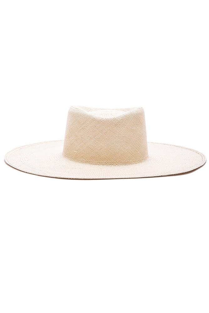 "<a href=""http://www.fwrd.com/product-ryan-roche-hat-in-natural/RYRE-WH9/?d=Womens&srcType=plpaltimage&page=1&lc=94"">Hat, $292.60, Ryan Roche at fwrd.com</a>"