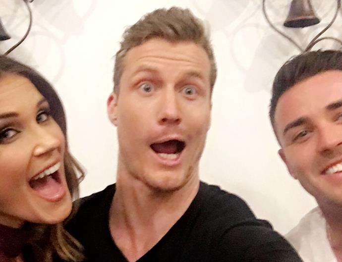 The Bachelorette Australia Contestants Georgia Love, Richie Strahan, Davey Lloyd