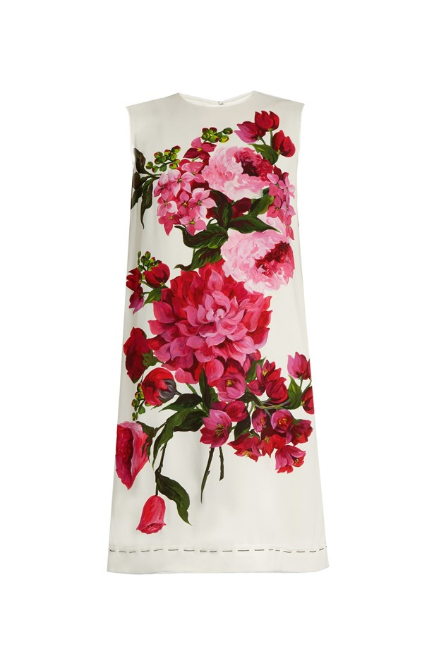 """<p> Emirates Melbourne Cup Day, Tuesday 1st November.<p> <p> The day to make a statement! Be as colourful and daring as you please.<p> <a href=""""http://www.matchesfashion.com/au/products/Dolce-%26-Gabbana-Floral-print-sleeveless-cady-dress-1065946#tab-2"""">Dress, $2160, Dolce & Gabbana at matchesfashion.com </a>"""