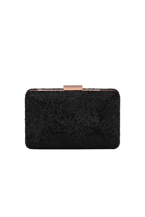 "<p> <a href=""http://www.myer.com.au/shop/mystore/women/handbags/clutches/olga-berg-ob7209"">Clutch, $189, Olga Berg from myer.com.au </a>"