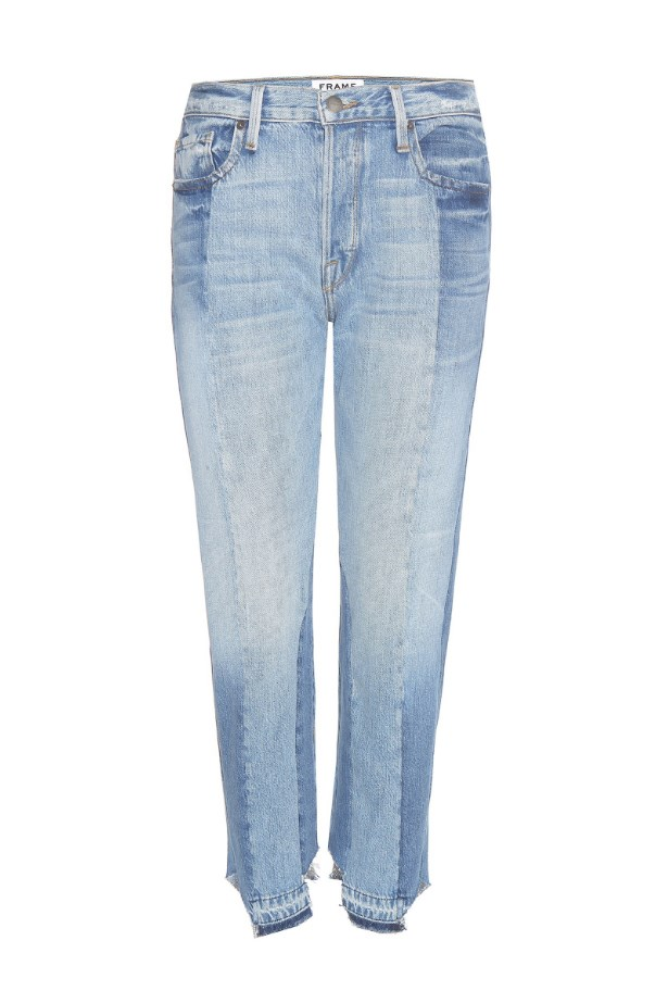 "Jeans, $845, <a href=""http://www.mytheresa.com/en-au/nouveau-le-mix-jeans-630161.html?catref=category"">Frame Denim at mytheresa.com</a>."