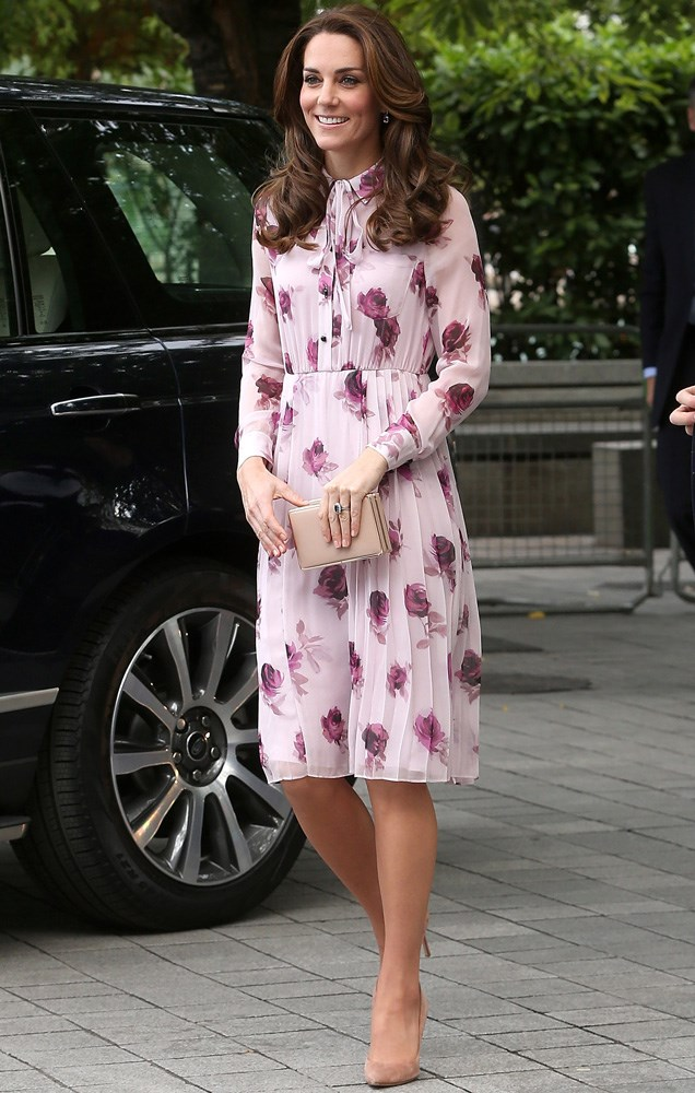 Kate Middleton worked her magic on this Kate Spade New York floral dress at a charity event in London.