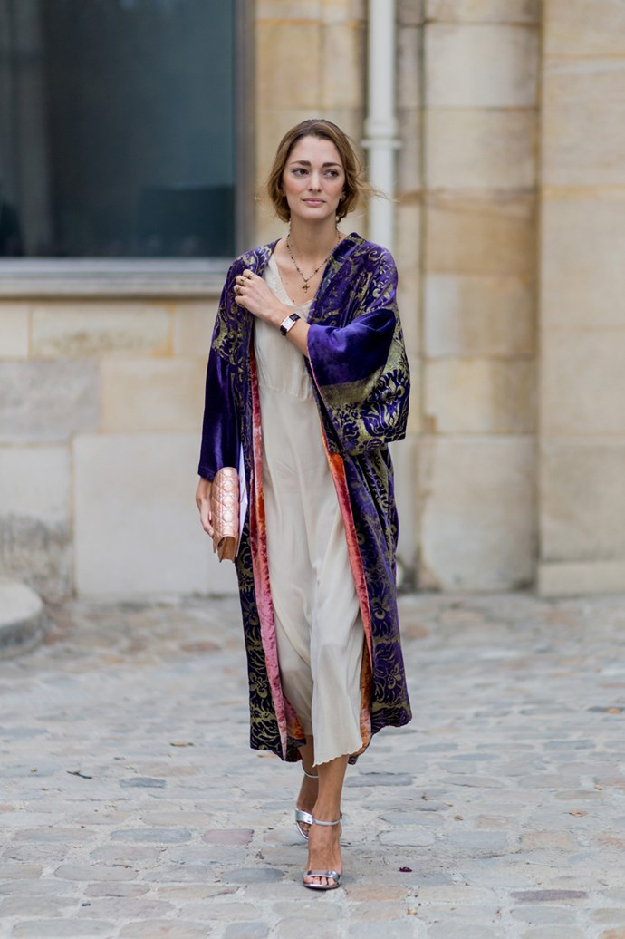 Sofia Sanchez de Betak at Paris Fashion Week.