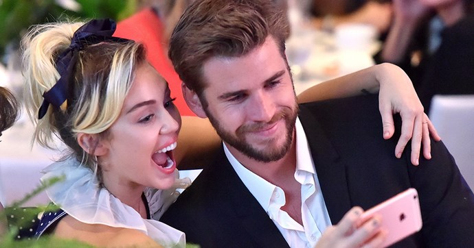 Miley cyrus liam hemsworth public appearance