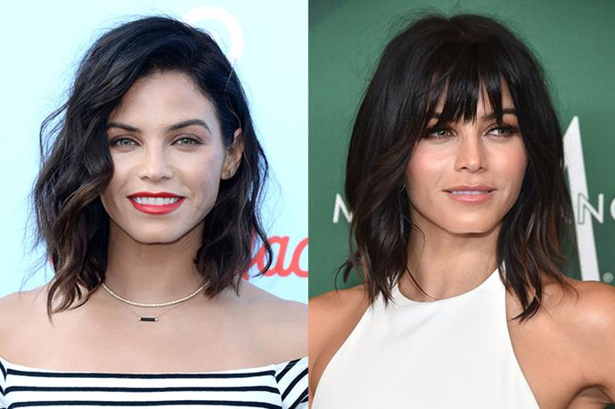 <strong>Jenna Dewan Tatum</strong> <br><br>Reinvigorating our desires to give our own hair a clip, Jenna debuted these rock 'n' roll bangs over the weekend.