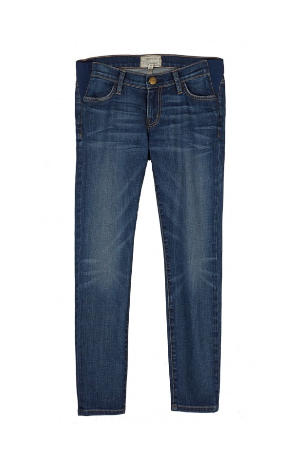 """<p> Not into belly-ban jeans? These chic skinny jeans, in collaboration with Current Elliot, are the answer. Their subtle elastic wedges make the stretch almost invisible, but totally comfortable.<p> <p> <a href=""""http://www.hatchcollection.com/chic-maternity-clothing/shop-by-category/denim/the-nearly-skinny-maternity-jean-1.html"""">Jeans, $326, HATCH.</a>"""
