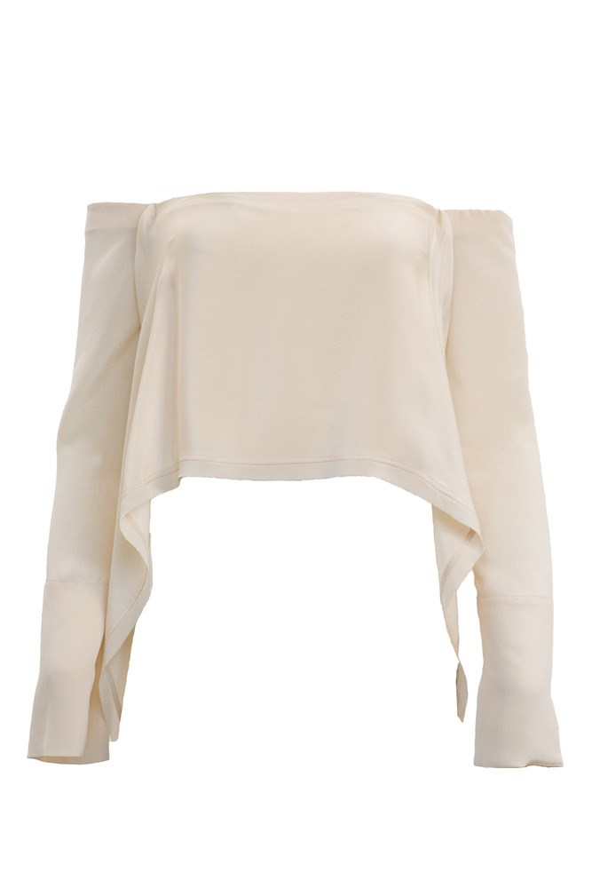 "<a href=""https://www.theundone.com/collections/tops/products/kitx-suspended-backless-top-skin"">Top, $445, Kitx at theundone.com</a>"