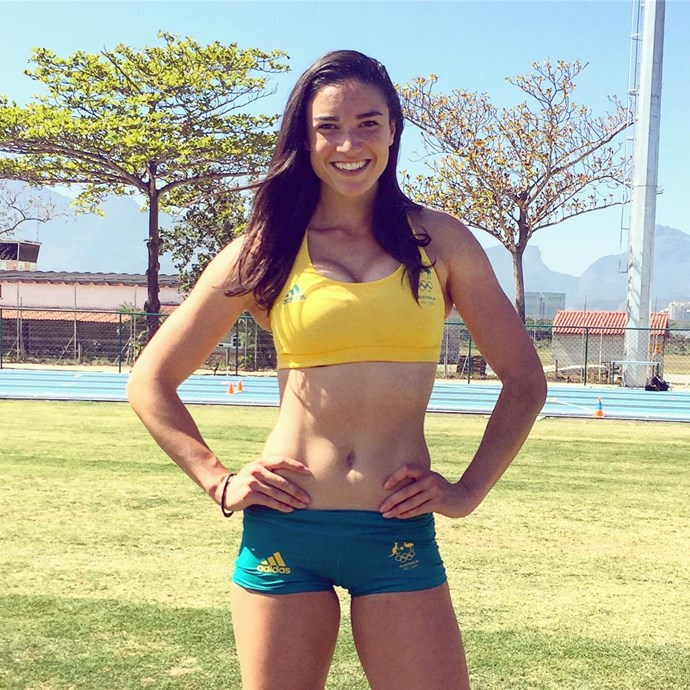 <p> Michelle Jenneke<p> <p> You might recognise this track athlete from her signature pre-game dance routine, but make no mistake: she's got the killer body to match and a set of abs you only get from intense crunching.