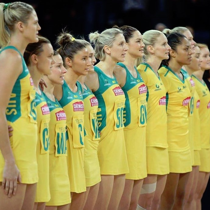 <p> The Australian Netball Diamonds<p> <p> Usually we might pick one or two, but in this case 'all of them' will do. These girls combine endurance-based fitness with high octane skills. Plus, they all know how to make the pivot look effortless.