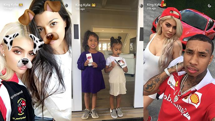 Kylie Jenner Throws Birthday Party For Tyga's Son King Cairo
