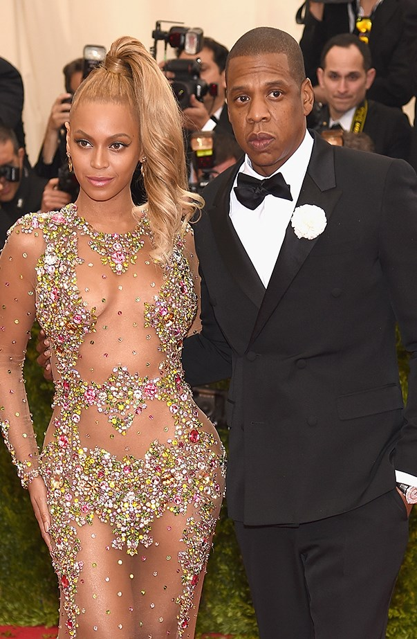<p><strong>Beyoncé and Jay Z</strong> <p>Places Beyoncé and Jay Z are more likely to be seen together than on a red carpet: on stage, watching basketball, or watching tennis. When they make a red carpet appearance together the world will know, like when they made their spectacular entrance at the Met Gala in May 2015—it was actually the last red carpet they've done together.