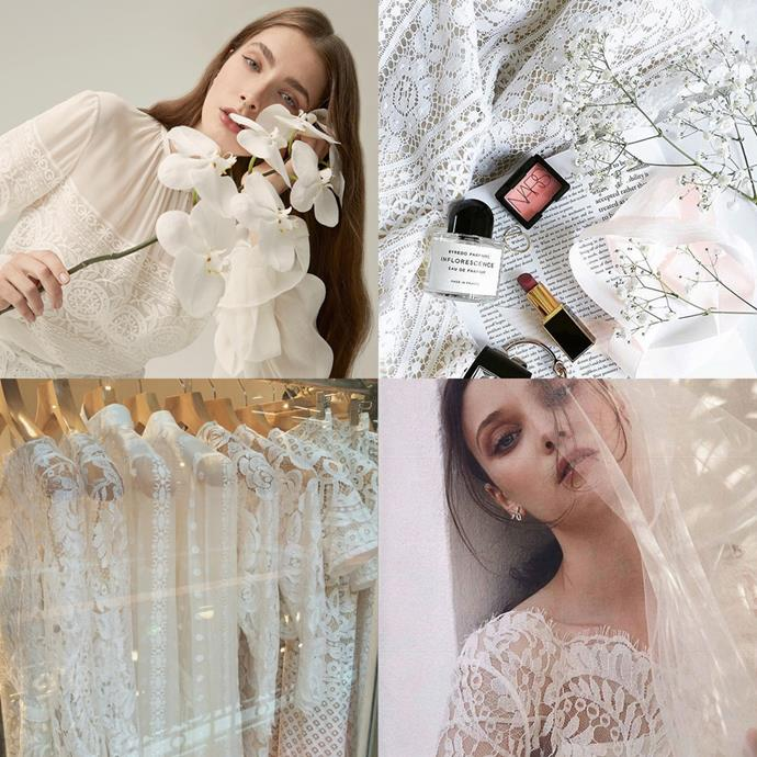 "<a href=""https://www.instagram.com/lover/?hl=en"">@lover</a><br><br> This Australian label isn't a bridal one per se, but its dreamy lace dresses have an aesthetic that brides and bridesmaids alike adore."
