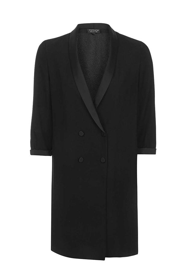 "<a href=""http://www.topshop.com/en/tsuk/product/clothing-427/jackets-coats-2390889/soft-tailored-jacket-5977600?bi=0&ps=20"">Blazer, $94, Topshop.</a>"