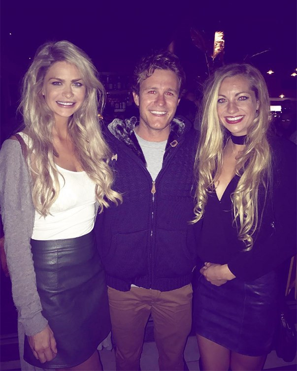 "<p>Perth-based Megan Marx, Ryan Palk and Tiffany Scanlon met up in the city. Megan captioned her photo, ""We met Heath Ledger last night. Wait, no- it was some guy from The Bachelorette! Haha, last minute message that we were in Perth and wanting to meet extended family from the show..."" Tiffany posted the same photo and wrote, ""WA Bachie fam! Was so lovely meeting this handsome bachelor last night and sharing stories about life in the mansion and those off camera antics!"" <p><a href=""https://www.instagram.com/p/BLm5r_OB4Ql/"">Instagram.com/megan.leto.marx</a>"